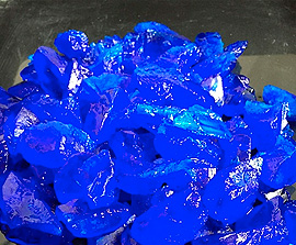 Copper Sulfate Pentahydrate Crystals 6.0 mm to 12.0 mm